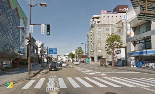 富山県高岡市の内科【宗玄医院】の駅からの道順2